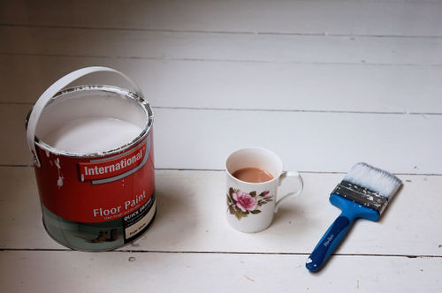 paint and tea
