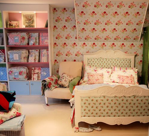Posy english living for Cath kidston bedroom designs